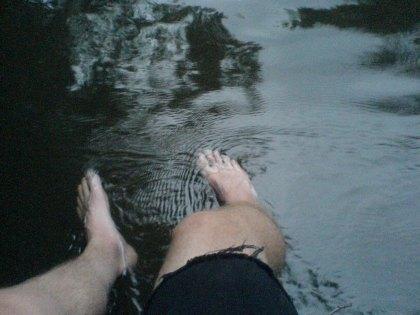 Pre-swimming